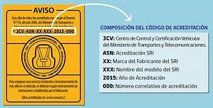 certificación chilena para sillas de auto para bebé