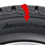 neumático direccional
